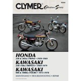 Clymer Vintage Japanese Street Bikes Repair Manual