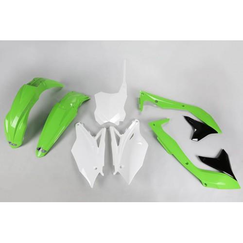 UFO PLASTICS SD CVR YZ400F /'98-00 WHT YA03811046
